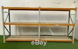 Longspan shelving, pallet racking, heavy duty, H-2100mm x D-800mm x L-2000mm