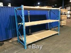 Longspan shelving, racking, Warehouse racking, Heavy duty, £131 PLUS VAT EACH BA