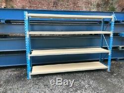 Longspan shelving, racking, Warehouse racking, Heavy duty, £139 PLUS VAT EACH BA