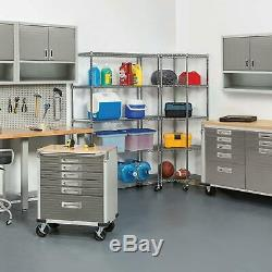 Member's Mark 6-Level Commercial Storage Shelving, Heavy duty steel withzinc plated