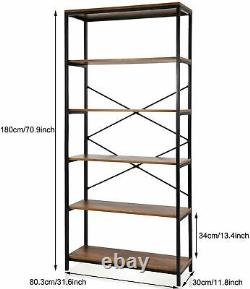 Metal Shelving Unit Boltless 5 Tier Garage Storage Shelves Warehouse Heavy Duty