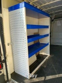 Metal Van Racking Shelving Storage System Heavy Duty Commercial