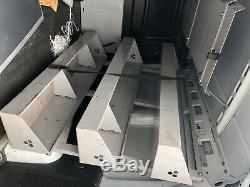 Metal Van Racking Shelving Storage System Heavy Duty Commercial