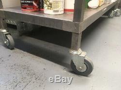 Moffat 4 Tier Stainless Steel Heavy Duty Shelving Racking Trolley