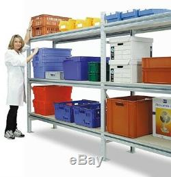 NEW Heavy Duty Industrial Longspan Storage Shelving / Racking Various Lengths