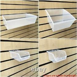 New Heavy Duty Crate Box Storage Hobby Box Slatbox Shelf Box Slatwall Display