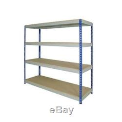 New Shelving Storage Unit 1830mm x 1830 x 610 Heavy Duty 300kg per shelf Garage