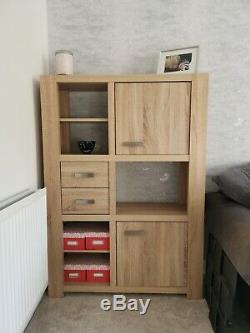 Next Oak Corsica Large Bookcase EXCELLENT Condition
