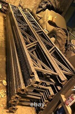 Pallet Racking Heavy-Duty 6m height x 2.7m width X 2ft Job Lot/single Bays