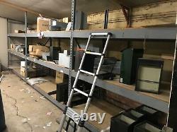 Pallet racking and shelving. 3 bays. Mega heavy duty