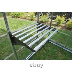 Palram Greenhouse Shelving Bundle Heavy Duty Galvanized Steel Modular 4-Piece
