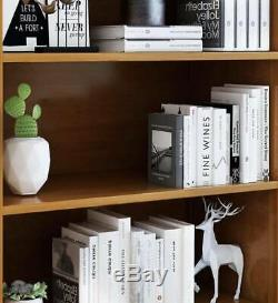 Premium Bamboo Multiple Tiers Stylish Bookcase Shelf Organizer Storage Office