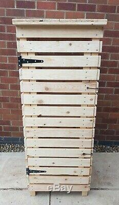 RECYCLE BIN STORE / LOG STORE DOUBLE shelves