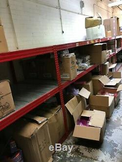 Racking 4 Bay Shelving Metal Heavy Duty 3 Tier Warehouse Storage Unit COLLECTION