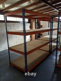Rapid 1 Racking 4-Tier Heavy Duty Warehouse Racking (600kg per shelf)
