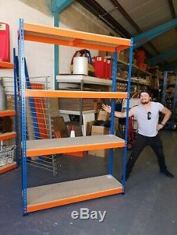 Rapid Racking 1. Heavy Duty 4 Shelf unit (25A) 2440mm x 1525mm x 610mm
