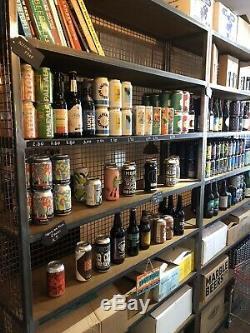 Retro Industrial Vintage Cupboard Cabinet Wall Storage Shelf Unit Bookshelf