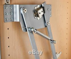 Rev-A-Shelf Ras-Ml-Hdsc Soft Close Heavy Duty Mixer Appliance Lift Silver Chrome