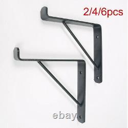Rustic Shelf Brackets Scaffold Board Heavy Duty 225mm Industrial Steel Metal