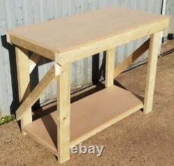 SALE! 18mm MDF Wooden Workbench -3Ft to 6Ft- Strong Heavy Duty