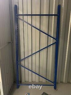 STOW Steel Frame HEAVY DUTY Factory Racking Shelving Industrial 4 Bays 12 shelfs