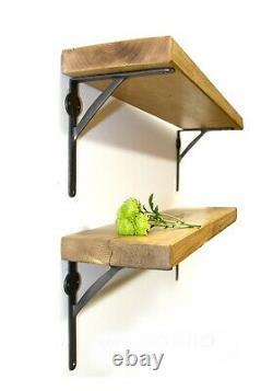 Scaffold board shelf brackets Shabby Chic Brackets Industrial EXTRA STRONG X2