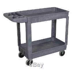 Sealey Heavy-Duty Composite 2-Level Shelf Workshop/Garage Trolley/Storage- CX202