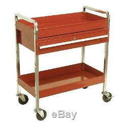 Sealey Heavy Duty Workshop Trolley Each Shelf Has 80 Kg Capacity Motorsport