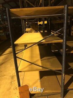 Shelf Heavy Duty Warehouse Garage Stock Room Racking L193cm x W 93cmx H180cm