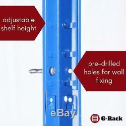 Shelving Garage Units 180Cm X 90Cm 60Cm Heavy Duty Racking Shelves For 3