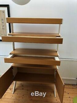 Shelving unit/cabinet, ex-Heals statement furniture in excellent condition