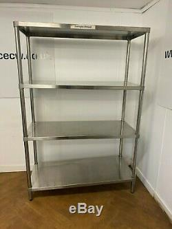 Simply Stainless Commercial Heavy Duty 4 Tier Rack/shelf 1775h X 1185w X 515d