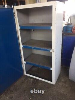Single Door 4 Shelf Tool Storage Cabinet Heavy Duty (sg2271)