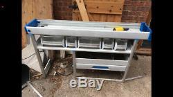Sortimo Globelyst Metal Van Racking Shelving Storage Heavy Duty Commercial Set