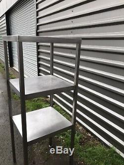 Stainless Steel Heavy Duty Tall Corner Shelving Unit