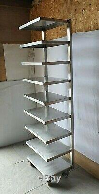 Stainless Steel Shelving Unit Commercial Shelf Storage Racks Heavy Duty Kitchen