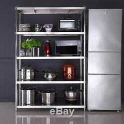 Stainless Steel Shelving Units Commercial Shelf Storage Racks Heavy Duty Kitchen