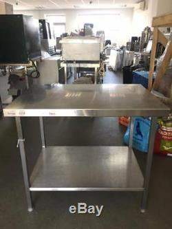 Stainless steel table/work bench with under-shelve TOP QUALITY/HEAVY DUTY