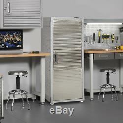 Storage Cabinet Lock Garage Storage System Industrial Rack Shelving Heavy Duty