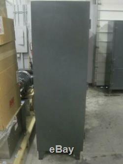 Strong Hold Heavy Duty Storage Cabinet Dark Gray 78 T 60 W 24 D 2 Door 4 SHELF