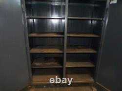 Stronghold 78 T X 60 W X 24 D 2 Door Storage Cabinet 10 Shelves