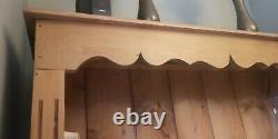 Tall Solid Bright Oak Wood 5-Tier Bookcase 95x25x200cm Bookshelf Display Stand