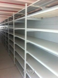 Tegometall Warehouse Shelf Gondelregal Palettregal Heavy Duty Getränkeregal 10m