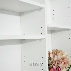 Unit Display CDs DVDs Storage Shelves Bookcase Shelving Bookshelf Home Office UK