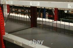 Used Large Job Lot Heavy Duty Boltless Storage Shelving Racking Steel Shelves