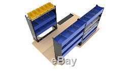 Van Racking System Heavy Duty Professional Van Shelving Units Package VP2