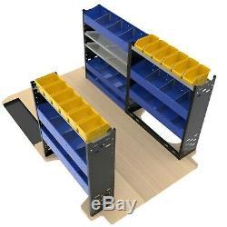 Van Racking System Heavy Duty Professional Van Shelving Units Package VP4