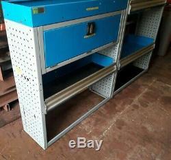 Van racking shelving storage bott racking heavy duty