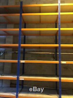 Very cheap Heavy Duty 4 Tier Shelf Industrial Unit Garage Shelving Steel Racking