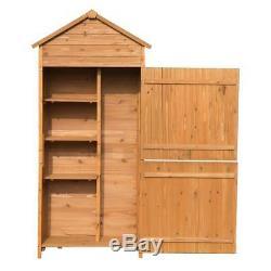 WOODEN GARDEN SHED Accessories Shelves Fir Wood Outdoor Inner Storage Heavy Duty
